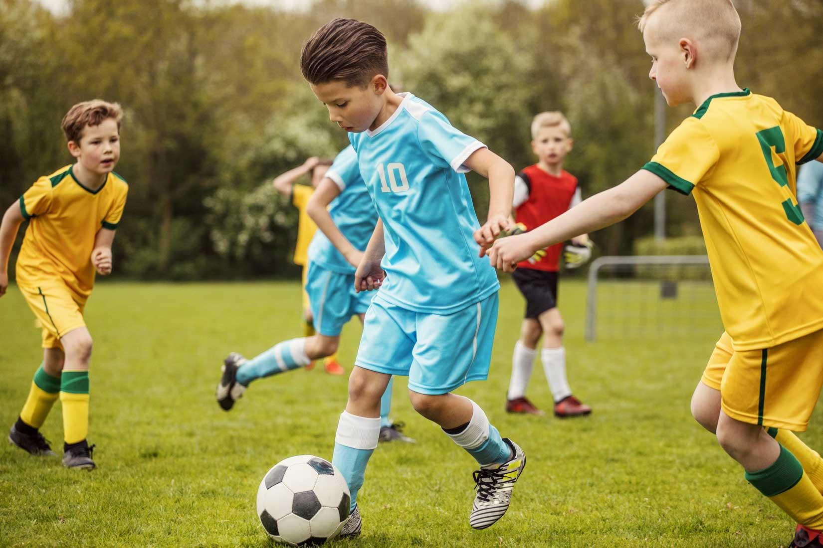 Wyniki meczów piłkarskich dzieci są jak oceny w szkole…