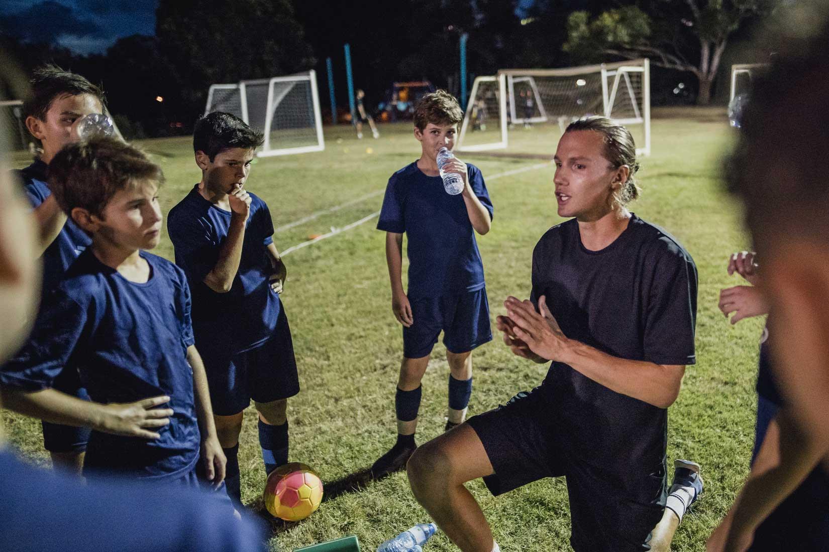 Zdolność koncentracji młodego sportowca